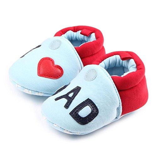 Chaussures bébé,Xinan Chaussures Garçon Fille Cuir Souple Chaussures premiers pas