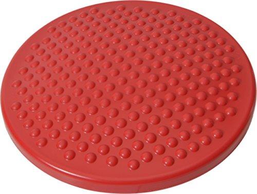 Gymnic Disc'o'Sit - Sillín Disco Junior Para Mejorar Postura | Concentración | TDAH | Estabilidad (33cm) - Cojín Hinchable Tipo 'Wobble Cushion' - Previene Encorvamiento - 100% Libre de Látex