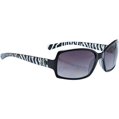 Guess Damen GU7012BLK-35A Sonnenbrille, Schwarz (Black), 61