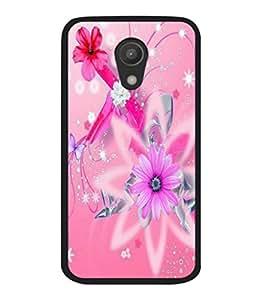 printtech Flower Spiral Star Back Case Cover for Motorola Moto G2 X1068 , Motorola Moto G (2nd Gen)