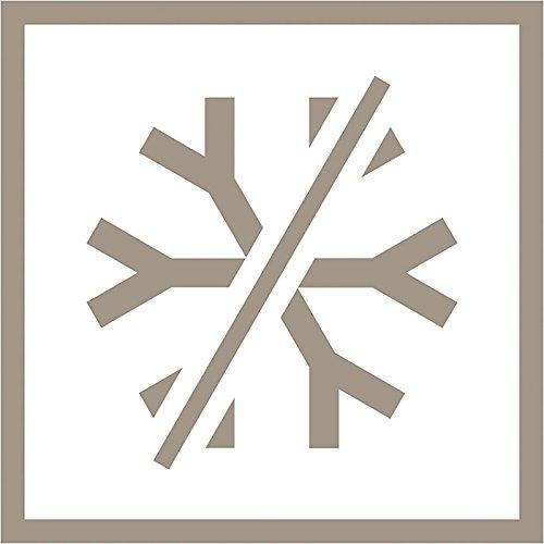 Zeichen für einen NoFrost-Gefrierschrank: AEG ARCTIS A81000TNW0 Gefrierschrank