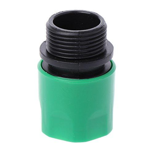 Junlinto Raccords d'adaptateur de raccord Rapide en Plastique Raccords d'arrosage pour Plantes de pelouse de Jardin - 6 robinets