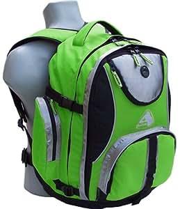 TREC-ON Rucksack LEXUS PRO Schulrucksack Schultasche XL Grün