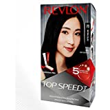 Revlon Top Speed Hair color Women, Natural Black 70   Ammonia Free  With Ginseng root extract