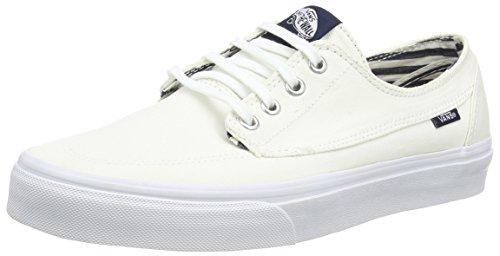 Vans Brigata, Zapatillas Unisex Adulto, Blanco (Deck Club/true White), 43 EU