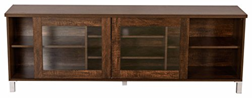 DeckUp Versa TV2181 TV Stand and Home Entertainment Unit (Wenge,...
