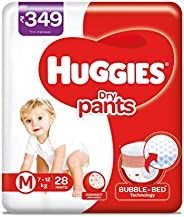 Huggies Dry Pants, Medium Size Diapers, 28 count