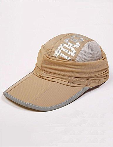 Été féminin de plein air chapeau de soleil Anti-UV Couvrez le visage Pliable chapeau de soleil ( couleur : 4 ) 7