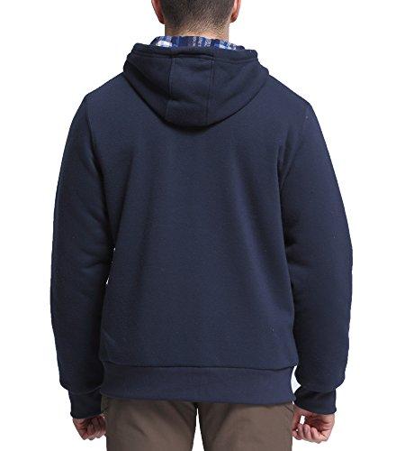 Herren Sweatjacke Kapuzenpullover Zip Hoodie Sweatshirt Jacke aus hochwertiger Baumwollmischung Navy