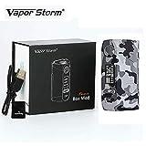Electronic Cigarette Vapor Storm Puma 200W TC MOD Graffiti Box Big Power Vape, No e Liquid, No Nicotine (Grigio)
