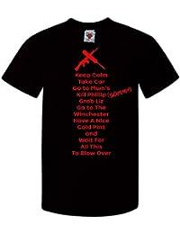 Bullshirt diseño con texto en inglés para hombre es para el de espera para todos los modelos de el más de T-Shirt permiten el paso de la y soplado.