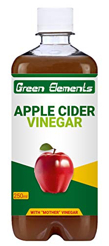 Green Elements Apple Cider Vinegar (Raw, Unprocessed And Unrefined) With Mother Vinegar – 250Ml
