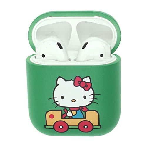 Hello Kitty Sanrio Apple (Sanrio AirPods Schutzhülle für Apple Airpods 1 und AirPods 2 (vorne sichtbar), Polycarbonat Hello Kitty Car)