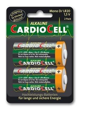 Batterie, Alkaline, Mono, CARDIOCELL