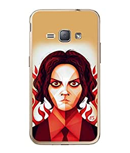 PrintVisa Angry Expression High Gloss Designer Back Case Cover for Samsung Galaxy J2 (6) 2016 J210F :: Samsung Galaxy J2 Pro (2016)