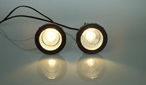 4 x 2 LED Pflanzenstrahler Blumenstrahler Jasmin mit Handschalter Zimmerpflanzenleuchte Spotlight...