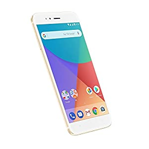 "Xiaomi MI A1 5.5"" 4GB/64GB Doble Sim, con Google Play [Version Europea] Blanco/Oro"