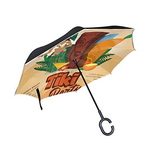 MUMIMI Mumimimi Peace-Zeichen umgekehrter Regenschirm umgekehrt doppelschichtig Winddicht UV-Schutz umgekehrt Faltschirm Reise-Regenschirm mit C-förmigen Griff, Unisex, q-3, Einheitsgröße (Peace Zeichen Lichter Und)