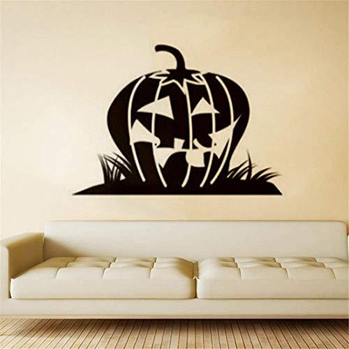 (Tapeta Baggrund Halloween Kürbis-Hintergrund-Wandaufkleber)