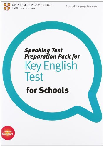 Speaking Test Preparation Pack for KET for Schools Paperback with DVD by Cambridge ESOL(2012-02-20)