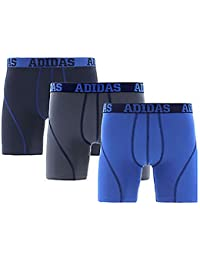 Adidas Mens Climalite Performance Boxer Briefs 3 Pack Large (36-38)