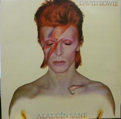 ALADDIN SANE LP (VINYL ALBUM) UK RCA 1973