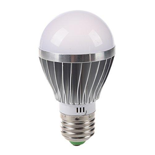 SODIALR E27 5w 12v Bombilla LED blanco alta potencia