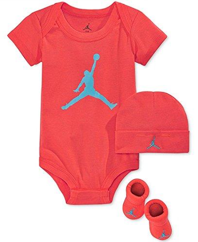 Jordan Jumpman Baby Dreiteiliges Set, Größe: 0-6 Monate (Kleinkinder Jordan Schuhe Für Mädchen)