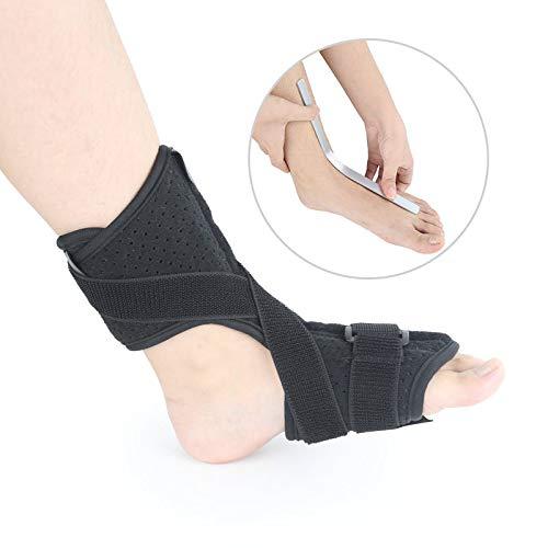 BUG-LPH Herren Damen Knöchelstütze Kompressionsstützhülse Verstellbarer Knöchelstützstabilisator für Knöchelverstauchung (schwarz) -