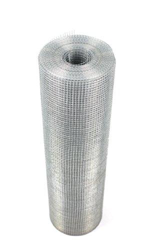 Treillis métallique soudé disponible en trois largeurs (22 jauges) (1220mmx15m)(486)