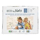 Eco By Naty - 30 Pannolini Ecologici - Dimensione 3 4-9Kg - Lotto Di 2 - Prezzo Per Lotto - Consegna Veloce