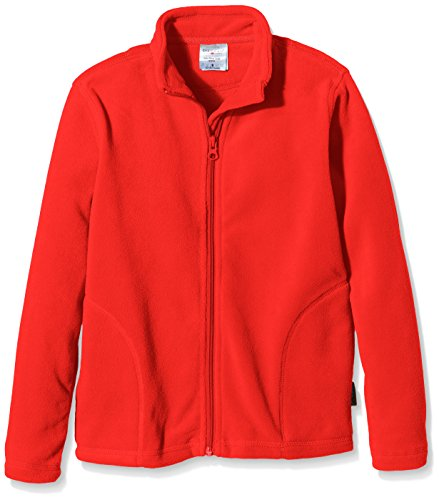 Stedman Apparel Jungen Active Fleece Jacket/ST5170 Sweatshirt, Rot-Rouge (Scarlet Red), 12 Jahre -