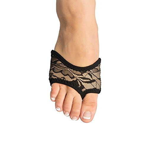 danshuz-womens-black-tan-neoprene-lace-double-stitched-suede-half-sole-xs