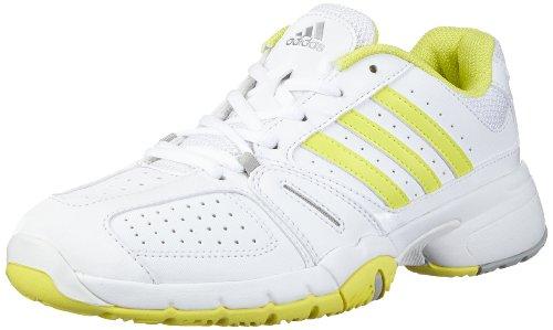 adidas Performance Bercuda 2.0 W G64805 Damen Tennisschuhe Weiß (RUNNING WHITE FTW / RUN YELLOW-SMC / RUN YELLOW-SMC)