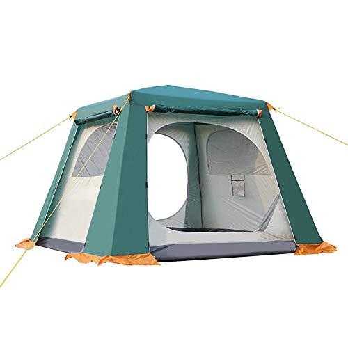 Forall-Ms 2 × 2m Pop-up-Strandzelte tragbar für 2-3 Personen, Automatisches Instantzelt Wasserdichter Anti-UV-Schatten Campingzelt Gartenhimmel Familie Cabana