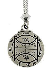Handmade Talisman For Communication with Animals Pewter Pendant ~ 18+4 inch extender Chain