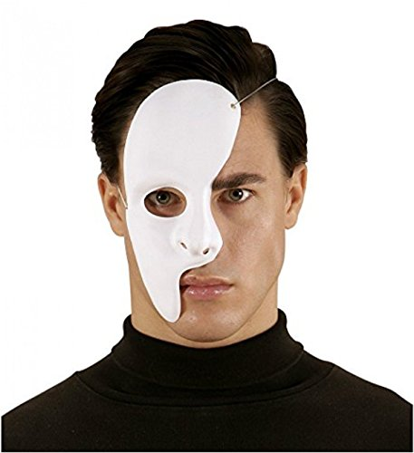 Inception Pro Infinite Maske - Half - Face - Geist - Oper - Karneval - Halloween - Kostüm - Cosplay (Szene Halloween Maske 2019)