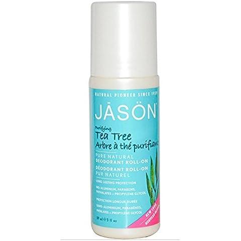 Jason Árbol del Té Desodorante Roll-On - 89 ml