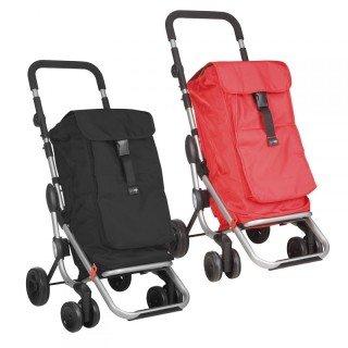 Einkaufsroller Go up rot (Kleine Kühltasche Mit Räder)
