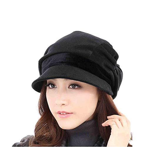 Lixue moda berretto cappello donna autunno e inverno versione coreana della marea britannico versatile signore d'inverno cappello giapponese casual elegante semplice e versatile, ammucchiati, può esse