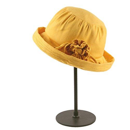 Jusheng Windschutz-Sonnenschutz-Hüte der Sommersonnenschutz-Frauen haben Winddichte Buckler-Hüte