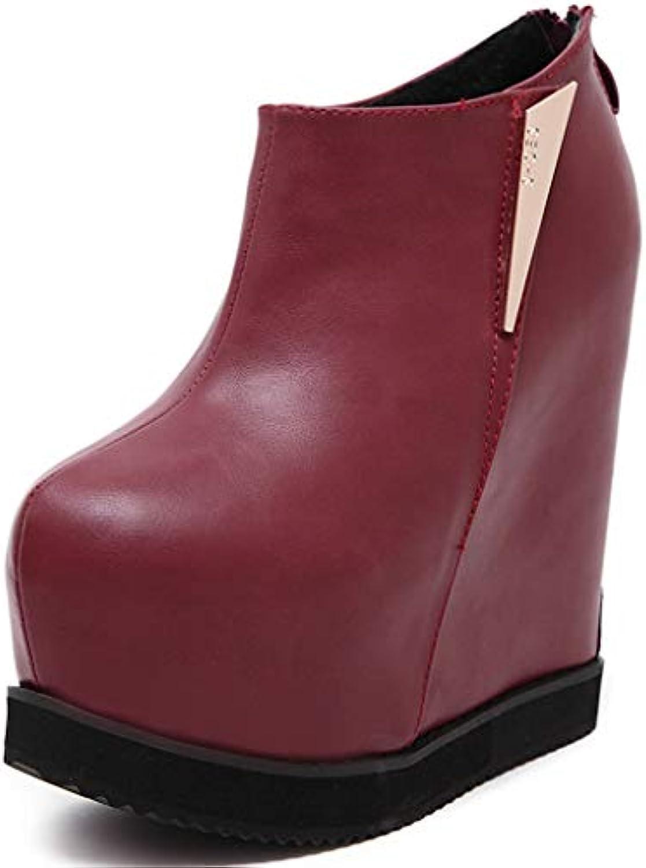 oroGOD Stivaletti Con Plateau Con Tacco Alto Donna,rosso,39 | Elegante Elegante Elegante Nello Stile  | Uomini/Donna Scarpa  df63ec