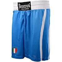 Boxeur Des Rues Fight Activewear Pantalón Corto competición, Hombre, Hombre, Fight Activewear, Royal, XXXL