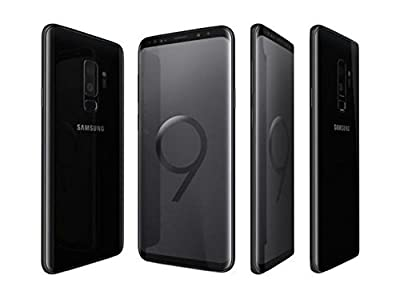 "Samsung Galaxy S9+ Plus (6.2"", Dual-SIM/Hybrid-SIM) 128GB SM-G965F Factory Unlocked 4G Smartphone (Midnight Black)"