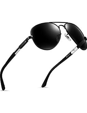 ATTCL Hombre Polarizadas Aviador clásico Gafas De Sol Al-Mg Metal Frame Ultra Light