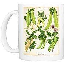 Photo Mug of Varieties of edible-podded pea, or sugar pea by Prints Prints Prints