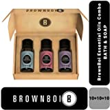 BrownBoi Essential Oil Combo Subscription Box Lavender Vanilla Rose (Bath Care)