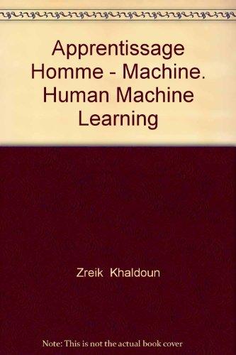 Apprentisage homme-machine =: Human-machine learning : actes de CAPS'98 = CAPS'98 proceedings