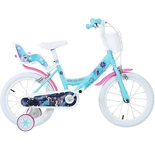 Disney Bicicletta Da Bambina Motivo Frozen Il Regno Di Ghiaccio