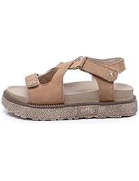 Pendenza sandali diamante femmina Comfort sandali, 40 EU, bianco latte